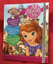 Disney Sofia The First About Me Keepsake Book of Secrets Journal - NWT Hardcover