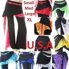 Belly Dance Tribal Melodia Yoga Pants U.S.A QUICK SHIPPING  FREE GIFT