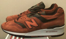 NEW BALANCE 997 SZ 11 MADE IN USA CLAY RED BURGUNDY M997DTAG