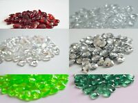 Christmas Heart Scatter Crystals Table Decoration Confetti 12mm