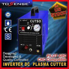 50A Plasma Cutter Pilot Arc 110/220V Cnc Compatible & accessoires 1-14mm cutting