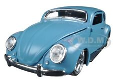 "VOLKSWAGEN BEETLE BLUE 1/24 ""OUTLAWS"" DIECAST MODEL CAR BY MAISTO 31023"