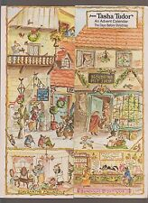 RARE VG 1970s First Edition Tasha Tudor Days Before Christmas Advent Calendar