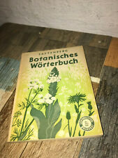Botanisches Wörterbuch, Botanik,Pflanzenkunde, Saftenberg