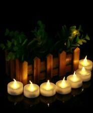 Flameless Led Candle Battery Operated Tea Light Flickering Christmas 10pcs set