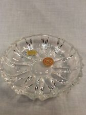 Bleikristall West Germany 24% Lead Crystal Candy Dish Bowl Vintage Tableware