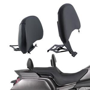 Driver Passenger Backrest Pad For Honda Goldwing GL1800 2018-2020 2019 Black