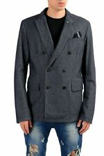 """Hugo Boss """"Brad-W"""" Wool Gray Men's Double Breasted Blazer US 42R IT 52R"""