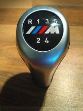 BMW M Sport M Power 5 Speed Gear Knob Manual Cars Leather Chrome + FREE GIFT