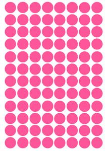 Circle, Round, Vinyl Decal x 96, Stickers, Glasses, Craft Project, Reward Charts