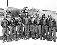 Tuskegee Airmen-African American Military Pilots World War 2-Large 11x14 Photo