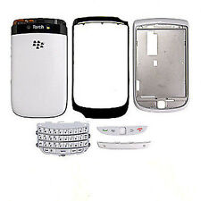 COVER ORIGINALE BLACKBERRY 9800 TORCH BIANCA CON TASTIERA