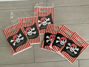 26 x Pirate Party Bags From Sainsburys - New & Unused