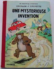 SYLVAIN ET SYLVETTE .UNE MYSTERIEUSE INVENTION. PESCH . BD EO FLEURUS 1965