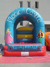 MASSIVE JUMPING CASTLE SALE - 4mx4m Castle Magic Theme ** Commercial ** NEW
