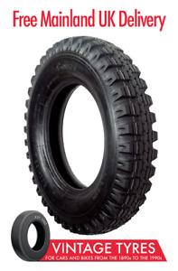 Camac NATO CJ110 600-16 crossply tyre 6.00-16 600-16C Land Rover Series I to III