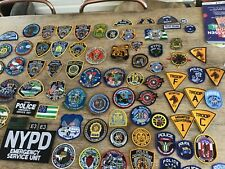NYPD collection of 80 patches
