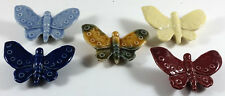 WADE BUTTERFLYS GROUP RANGING FROM 1990 TO 2004   SET OF 5