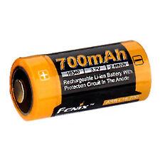 Fenix Flashlight Battery Rechargeable Li-ion 700mah 16340