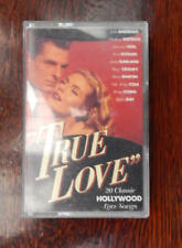 True Love. 20 Classic Hollywood Love Songs. Single Cassette. Free P&P A574