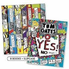 The Brilliant World of Tom Gates 8 Books Boxed Collection Set by Liz Pichon