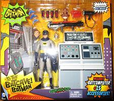 Batman 1966 Classic TV Series BATCAVE BRUCE WAYNE BATCOMPUTER SET Adam West