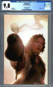 Firefly #5  Forbes Virgin Variant Cover  Zoe Washington 1st Print  CGC 9.8