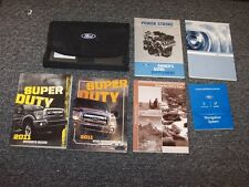 2011 Ford F450 Super Duty Owner Owner's Operator Manual Set King Ranch Lariat XL
