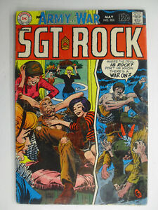Our Army At War #206, Sgt Rock, There's A War On, VG+, 4.5 (C), OWW Pages