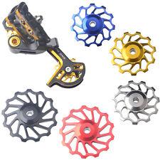13T For SHIMANO XT & SRAM Bicycle Pulley Jockey Wheel Steel Bearing Derailleur