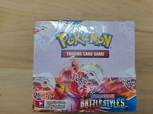 NEUF Display Carte Pokemon Officiel 36 Boosters Styles De Combats US ANGLAIS...
