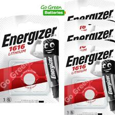 4 x Energizer CR1616 1616 3V Lithium Coin Cell Batteries DL1616 KCR1616, BR1616
