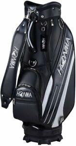 HONMA Golf Men's Caddy Bag Side Line 47 Inch 4.2kg Black Black CB-12016 Japan
