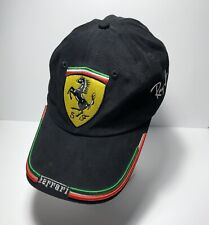 Scuderia Ferrari Black Ray Ban  Baseball Cap Hat Official Formula One Racing