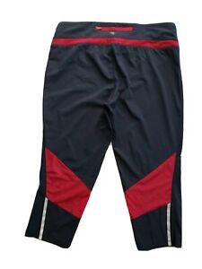 Tangerine Women's Active Wear Yoga Crop Pants Size L Large Black Gray