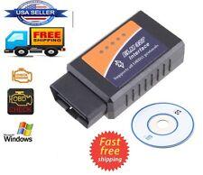 Bluetooth Wireless Auto Car Diagnostic Scanner Reader ELM327 OBDII OBD2