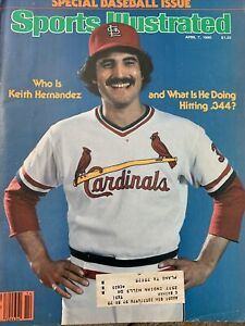 Sports Illustrated Keith Hernandez Cardinals 1980 Baltimore Orioles
