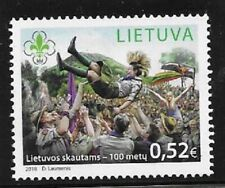 2018    LITHUANIA  -  SCOUTS ANNIVERSARY   -  UMM