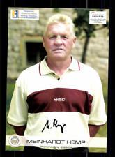 Meinhardt Hemp  Autogrammkarte Dynamo Dresden 2003-04 Original Signiert+A 169299