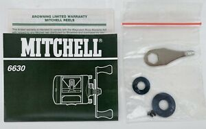 MITCHELL 6630 Fishing Reel Manual with Washers and Screws