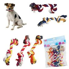 5 Piece Dog Play Toy Fun Chew Knot Knotted Puppy Pet Tough Strong Fetch