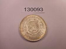 1962 Mexico Un Peso - Nice Collector Grade Album Silver Coin - # 130093