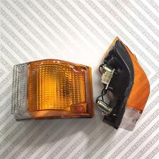 FIT ISUZU ELF NPR NKR NHR TRUCK CORNER LAMP FERNDER LAMP LIGHT PAIR SIDE 85-93