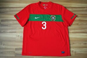 #3 Fabio Coentrao PORTUGAL 2010-2011-2012 FOOTBALL HOME SHIRT JERSEY NIKE XLARGE
