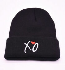 FD4755 XO Black Knit Hat Beanie Warm Hat Hip Hop Unisex Women Men Beanie Hat