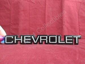 "NOS OEM Chevrolet Corsica Beretta Rear Bumper Nameplate Emblem 1987 - 96 7 3/8"""