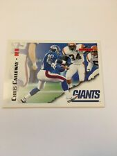 Chris Calloway  Giants 1995 Score #79