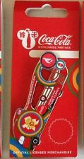 LONDON 2012 OLYMPICS COCA COLA OLYMPIC FLAME TORCH RELAY BEAT BOX BUS PIN
