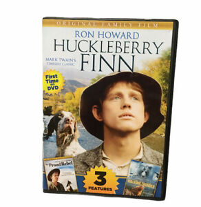 Huckleberry Finn DVD 3 Features Including Walking Thunder, The Proud Rebel