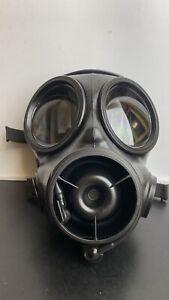 2009 Gas Mask, Respirator, British Army Avon S10 Size 4 Small - Fabric Harness A
